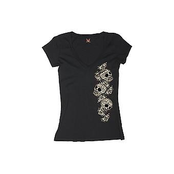 Lucky 13 ladies of T-Shirt Tres skull