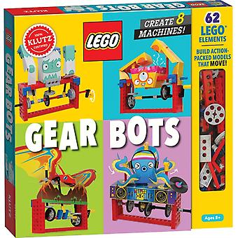 LEGO Gear Bots by Editors of Klutz
