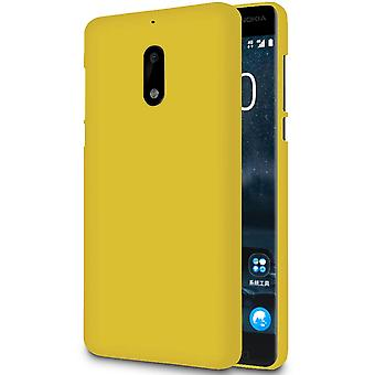 Ultra Thin Shell pour Nokia 5.1 Soft Ultra-Slim Solid Color Silicone Light Yellow