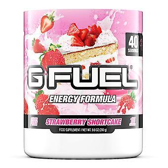G Fuel Strawberry Shortcake Tub (40 Servings) Elite Energy and Endurance Formula
