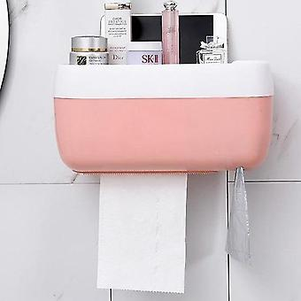 Multifunction Automatic Dustproof Portable Wall Mount Toilet Paper Holder