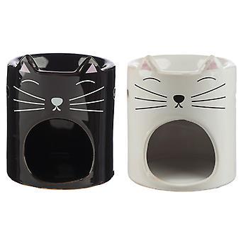 Ceramic Feline Fine Cat Oil Burner X 1 Pack