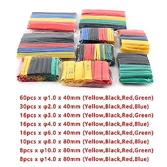 Heat Shrink Thermoresistant Polyolefin Assorted Insulated Sleeving Tubing Wrap