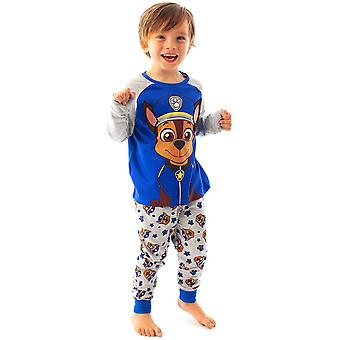 Paw Patrol Boys Pyjamas Chase Floppy Ears Kids Long Sleeve PJ Set