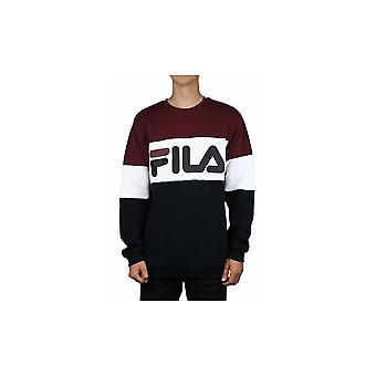 Fila Straight Blocked Crew 681255A815 universal all year men sweatshirts