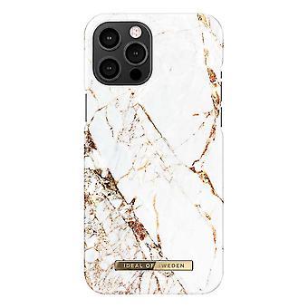 iDeal de Suecia iPhone 12 Pro Max Shell - Carrara Gold
