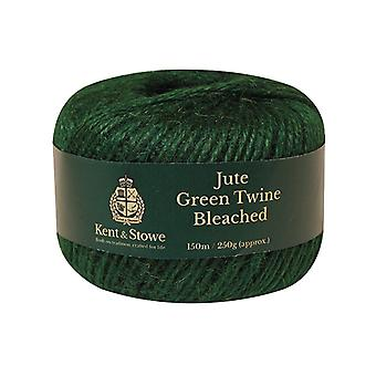 Kent & Stowe Jute Twine Bleached Green 150m (250g) K/S70100825