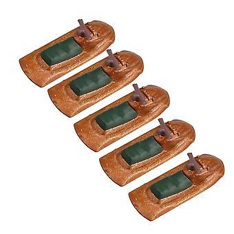 5x 1/250 Scale Miniature Motor Boat pour modèle de table de sable bâtiment diy