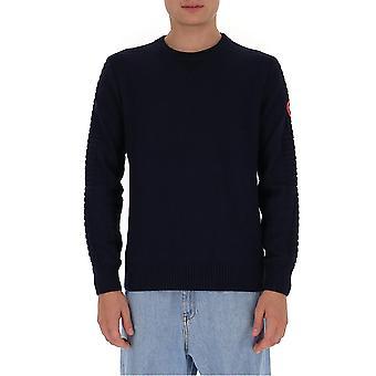 Canada Goose 6810m67 Men's Blue Wool Sweater