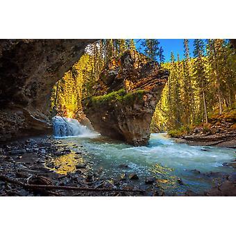 Vægmaleri Johnston Creek Canada