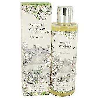 White Jasmine By Woods Of Windsor Shower Gel 8.4 Oz (women) V728-535164
