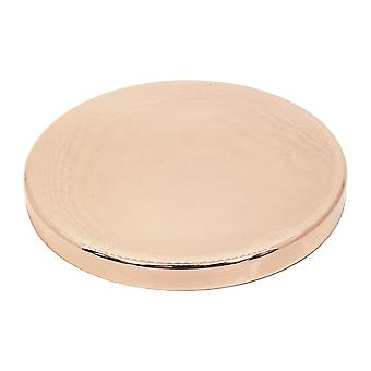 Luxury rose gold lid for 50cl tall candle glass - box of 12