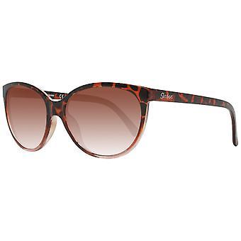 نظارة شمسية نسائية بنية