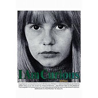 Ich bin neugierig (gelb) Film-Plakat-Druck (27 x 40)