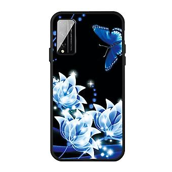 Für Huawei Play 4 T Pro Muster Druck Embossment TPU Mobile Case (Orchid Butterfly)