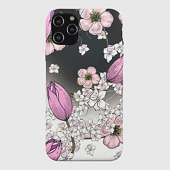 Eco Friendly Printed Floral Pink iPhone 12 Pro Max Case
