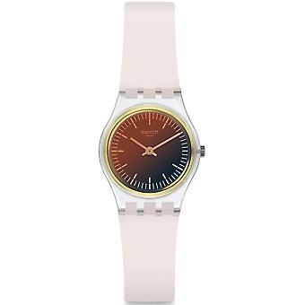 Swatch Lk391 Ultra Silicone ouro relógio