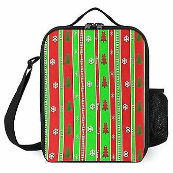 Christmas Paper Pattern Printed Lunch Bags