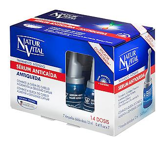 Natur Vital Serum Anticaída Treatment Intensivo 7 Ampollas X 12 Ml Unisex