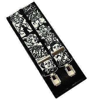 Ties Planet Hollywood Film & Music Stars Men's Trouser Braces