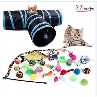 Pets Cat Toys Mouse Shape Balls Shapes Kitten Love New Pet Toy Cat Channel Funny Cat Stick Mouse Supplies Value Bundle