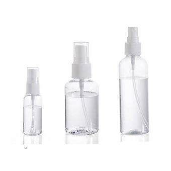 Transparent Empty Spray Bottles