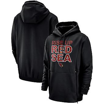 Arizona Cardinals Men's Sideline Local Lockup Pullover Hoodie Top WYX082