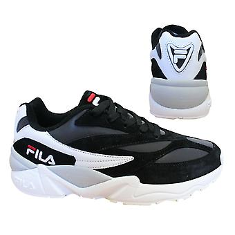 Fila V94M R Low Black White Lace Up Casual Sports Herren Trainer 1010716 12S