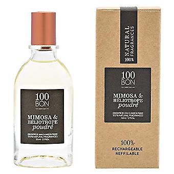 100BON Mimosa & Heliotrope Poudre Refillable Eau de Parfum Concentrate 50ml Spray