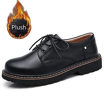Oxford Style Leather Mary Jane Shoes Teen School Shoes