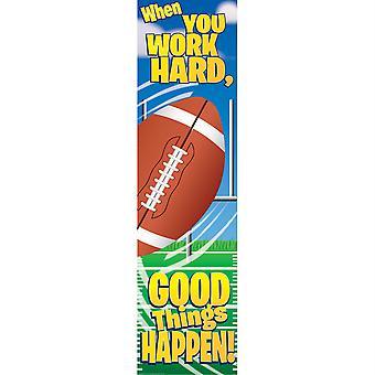 Football Motivational Banner, 4'