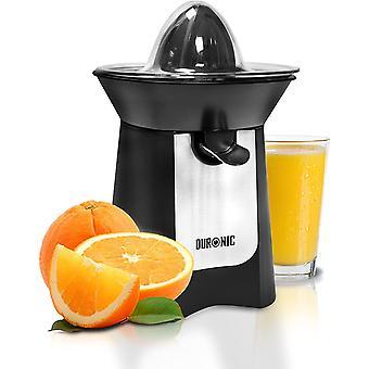 Duronic Citrus Juicer JE6 BK | Electric Juice Extractor | Powerful 100W | Black