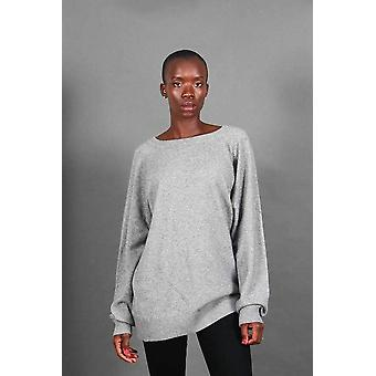 Amani crew neck cashmere sweater
