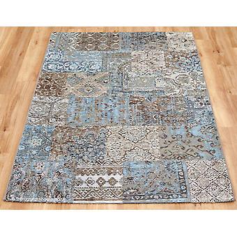 Petra blauw tapijt