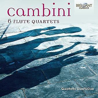 6 Flute Quartets [CD] USA import