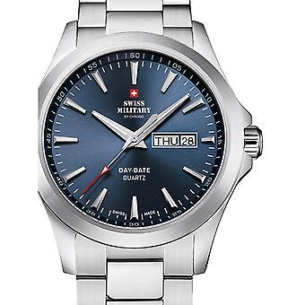 Reloj masculino militar suizo por Chrono SMP36040.24, cuarzo, 42 mm, 5ATM