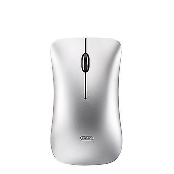 Computer trådløs Bluetooth genopladelig lydløs mus, ergonomisk Mini Usb