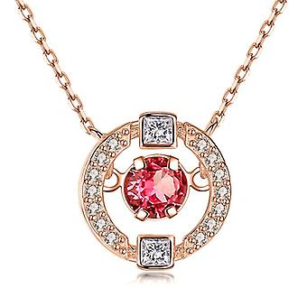Jewelry Necklace, Women's Wedding Crystal Clavicle Chain Pendant