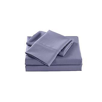 Royal Comfort 2000 Tc Bamboo Cooling Sheet Set Ultra Soft Lilac Grey