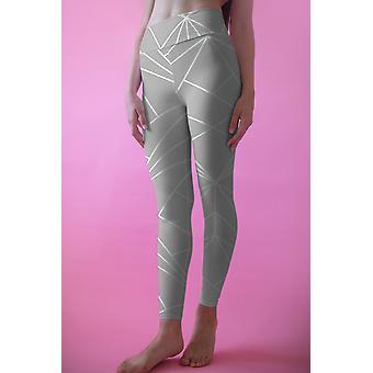 Geometri leggings, capris och shorts