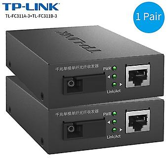 Tp-link Fiber Transceiver Single-mode Single-fiber Sc Interface Fiber Optic
