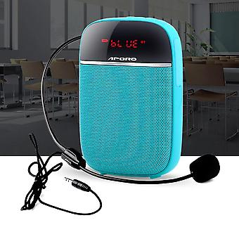 Portable 10w Voice Amplifier Wired Microphone Headset With Sound-amplifying