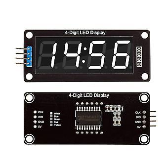 4-digit 0.56 Red Digital Led Display Tube Decimal 7 Segments Clock
