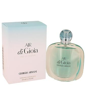 Air Di Gioia Eau De Parfum Spray By Giorgio Armani 1.7 oz Eau De Parfum Spray