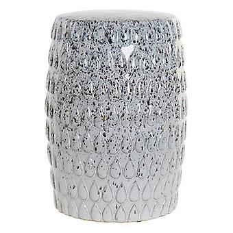 Boční stůl Dekodonia Bílý porcelán (33 x 33 x 45 cm)