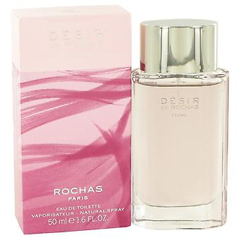 Desir De Rochas Eau De Toilette Spray By Rochas 1.7 oz Eau De Toilette Spray