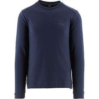 BOSS Navy Salbo Sweatshirt