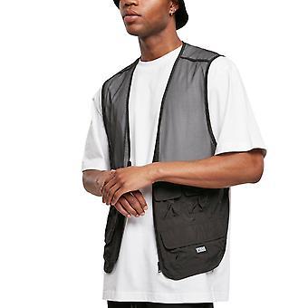 Urban Classics - TACTICAL Light Pocket Vest black