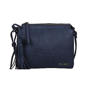 Bulaggi Gerbera Crossbody Bag with Shoulder Strap Detachable Tassel Dark Blue