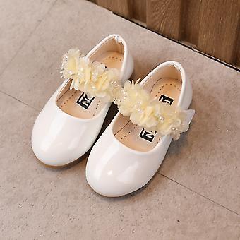 Crianças verão soled flor suave sólido sandálias casuais sapatos princesa